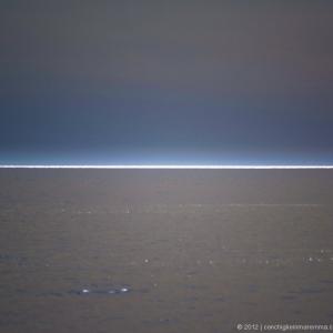 Lama di luce in mare