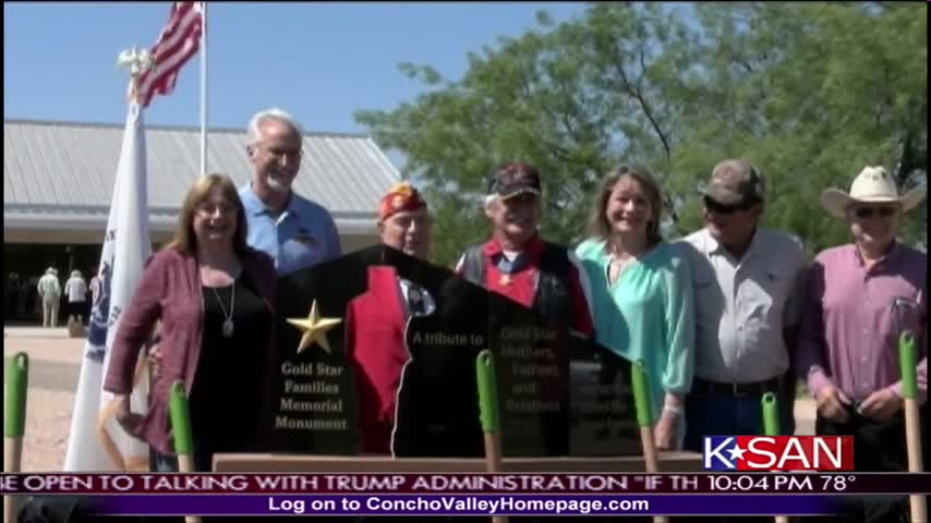 Family Honored by Memorial Monument_33996916