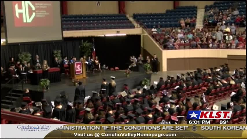 Graduation Ceremonies in San Angelo 051317_37627576