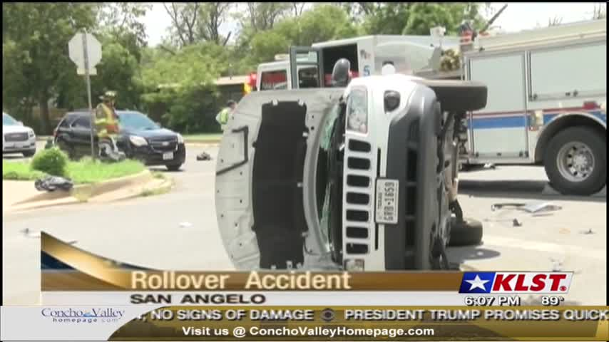 Rollover Accident on Beauregard_85004884
