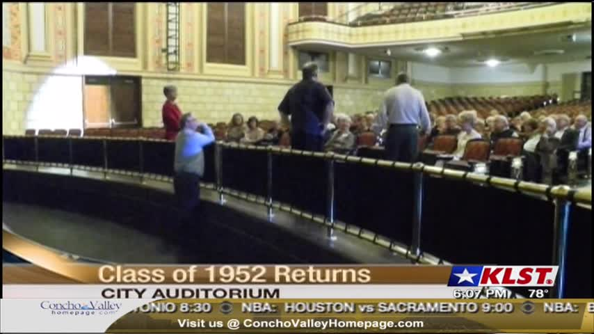 Central High School Class of 52 Returns to City Auditorium_94319305