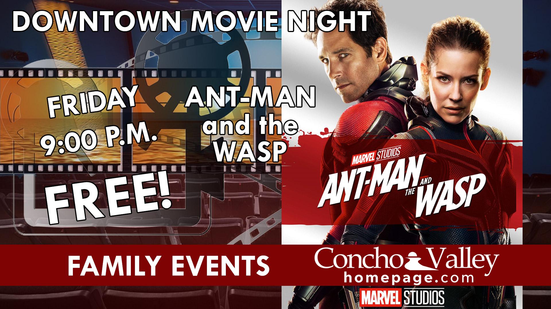 FREE Downtown Movie Night