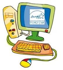 energy start Tips para ahorrar energía en el uso del ordenador personal