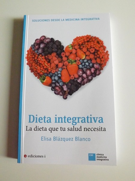 libro de elisa La Dieta Integrativa como arma terapéutica, entre la nutrición y el coaching