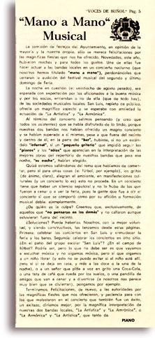 Historia del Mano a Mano de Buñol