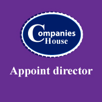 register new director with companies house
