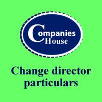 change director particulars