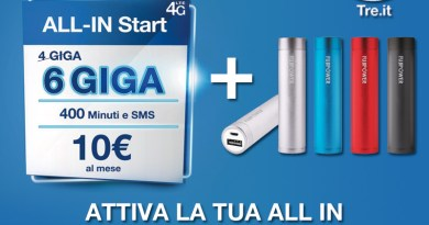 All in 3 con Regalo