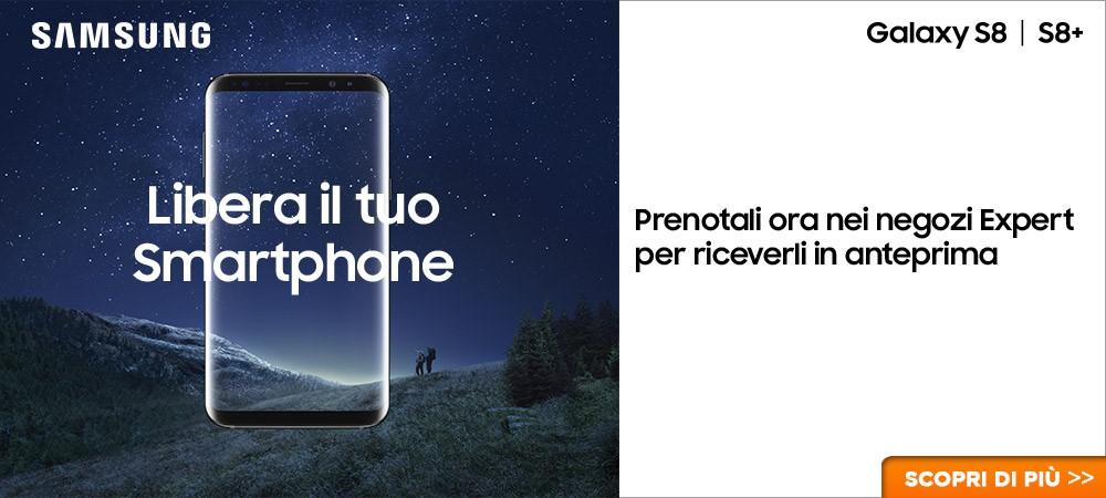 Prenota il tuo Galaxy S8