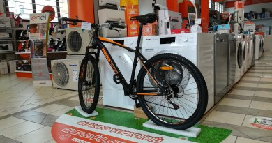 Il regalo è la fantastica mountainbike momodesign