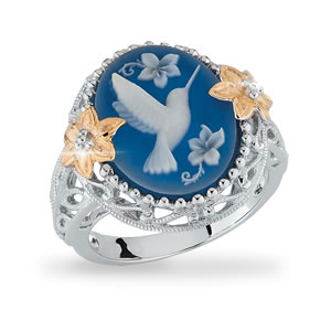 The Concorde Collection Small Miracles Hummingbird Cameo