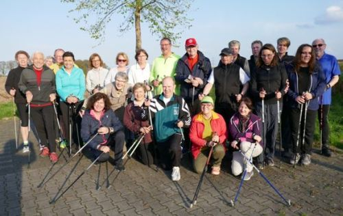 Nordic Walking Saison hat begonnen