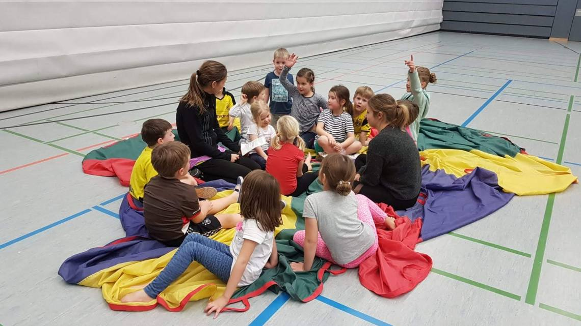 Turngruppe der Kindergartenkinder geht wieder an den Start!