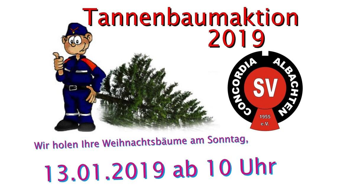 Tannenbaumsammelaktion 2019