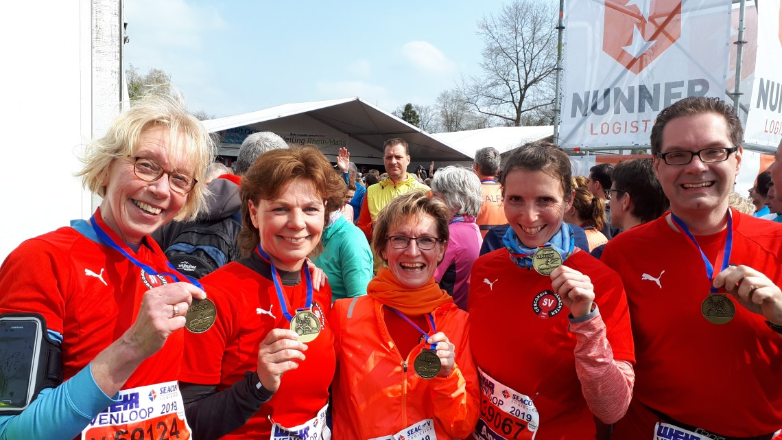 Concordias Laufgruppe beim Venloop stark vertreten
