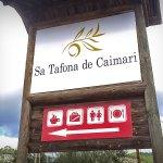 Señalética restaurante Sa Tafona de Caimari