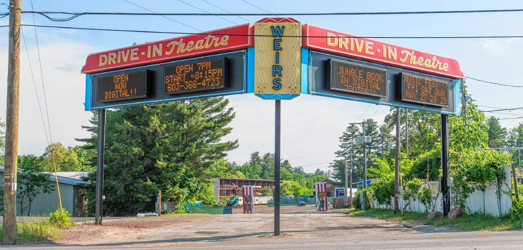 Curtains Closing On Iconic Weirs Beach Drive In Movie Theater