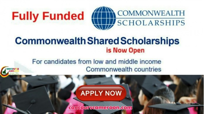 Commonwealth Shared Scholarships 2020 In UK Fully Funded For Cameroonians