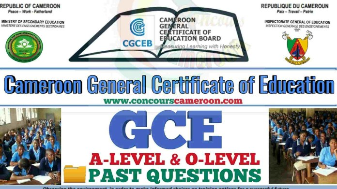 GCE Cameroon