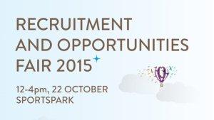 UEA Recruitment and Opportunities Fair. Photo: UEA, Twitter
