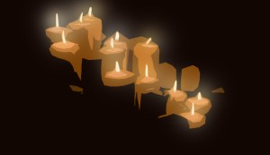 Dougie Dodd's Illustration of Candles