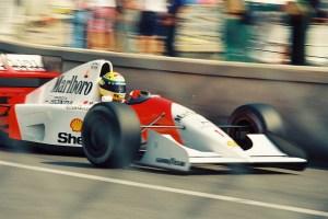 Aryton Senna, F1 Racing. Photo: Wikimedia