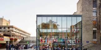 UEA Square. Photo: University of East Anglia (UEA), Facebook