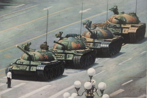 Chinese censorship: Tank Man sold to Chinese firm