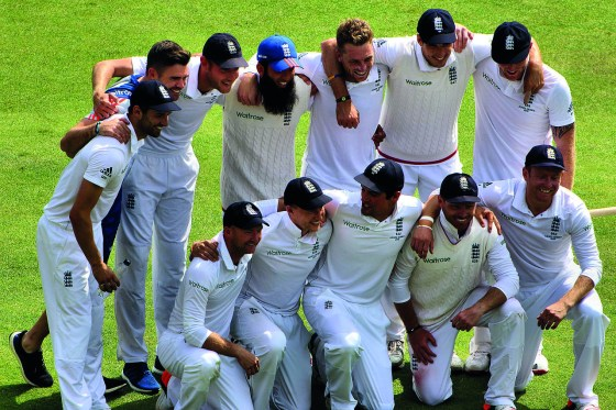 England's cricketers triumph in series against South Africa