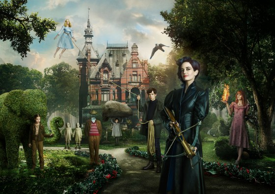The wild, the fantastical! Miss Peregrine's Home for Peculiar Children
