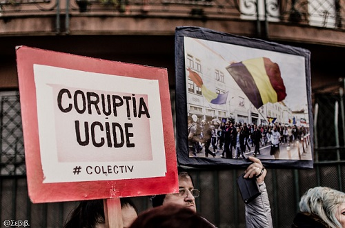 Protests erupt across Romania against government corruption