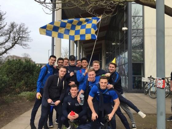Essex headbutt mars UEA football success
