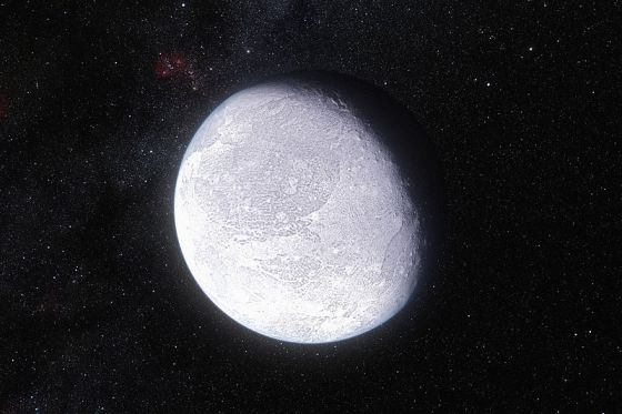 Dwarf planet discovery breakthrough