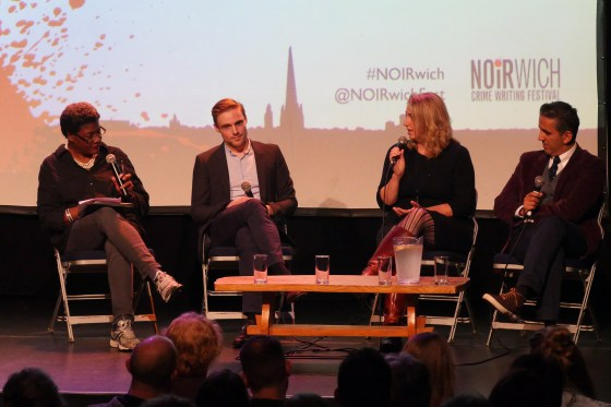 "Mamhood, Knox and Broadribb at Noirwich festival: ""write what you know"""