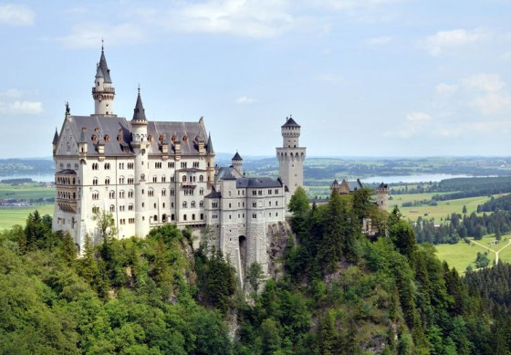The fairytale castles of Bavaria