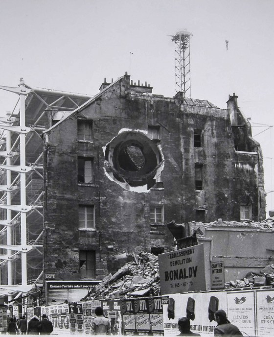 Gordon Matta-Clark and Radical Architecture