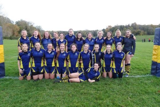 Women's Rugby tri-umph