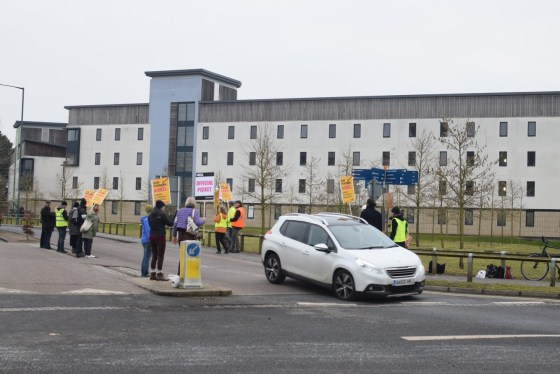 Live updates: UEA lecturers on strike