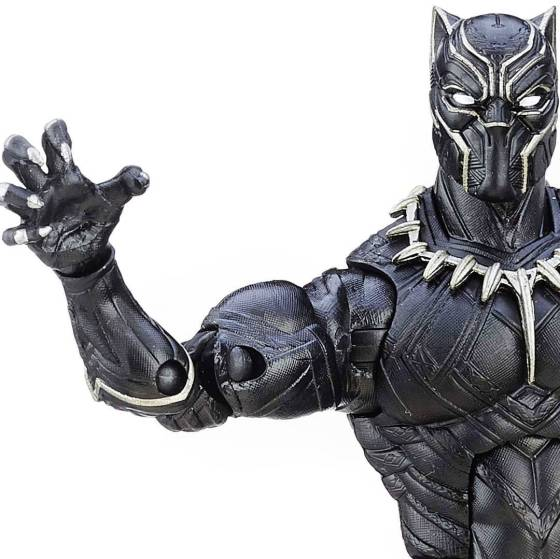 Black Panther shows its claws
