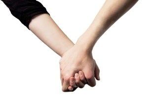 holding hands by Brett Sayer on flickr