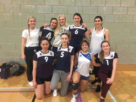 Tight victory for Coventry's Ladies Volleyball team