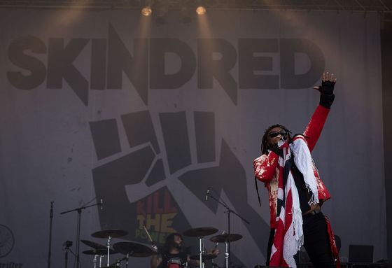 Skindred: reggae-rock at UEA