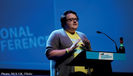 Delegates protest at NUS national conference