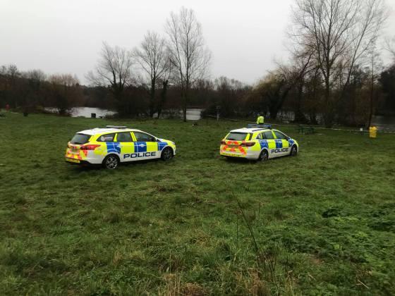 Police close lake to investigate alleged rape