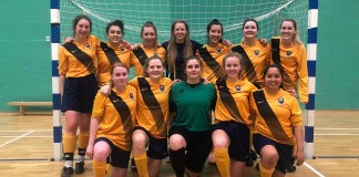 UEA Women's Futsal 2018-19, final league round