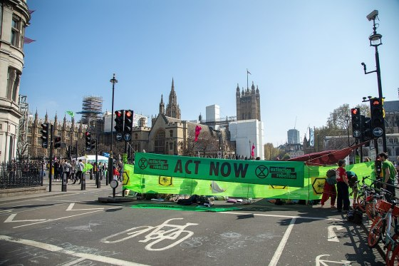 Climate activists charged after tube stations protests