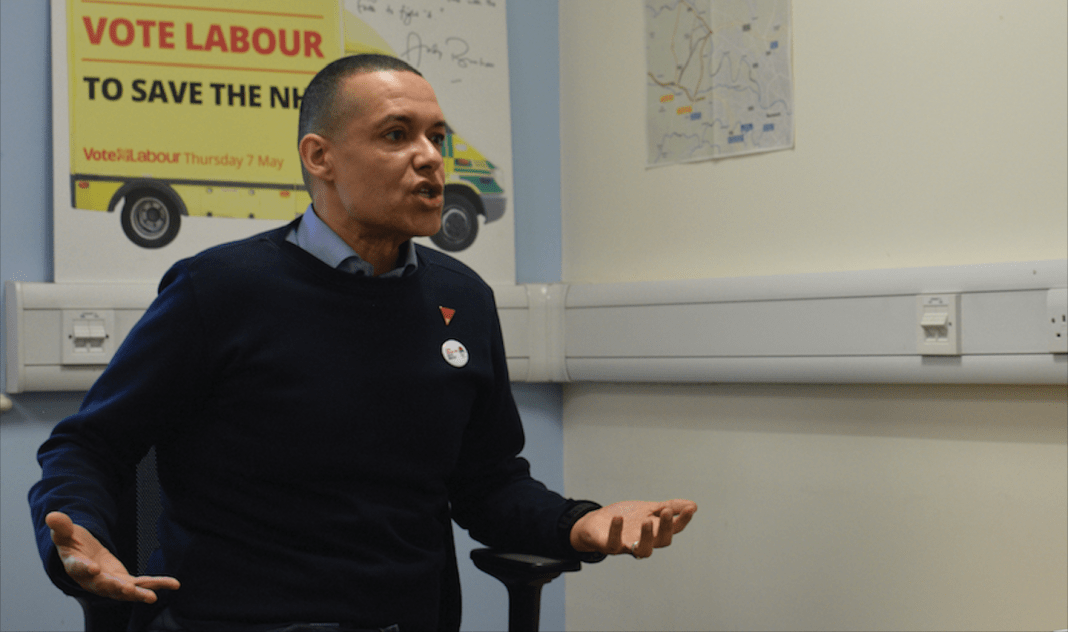 Clive Lewis Labour leadership race