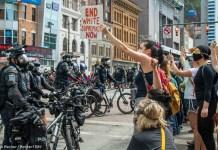 Columbus protest