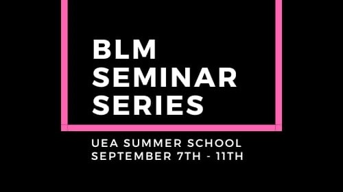 Black Lives Matter Seminar Series: Review