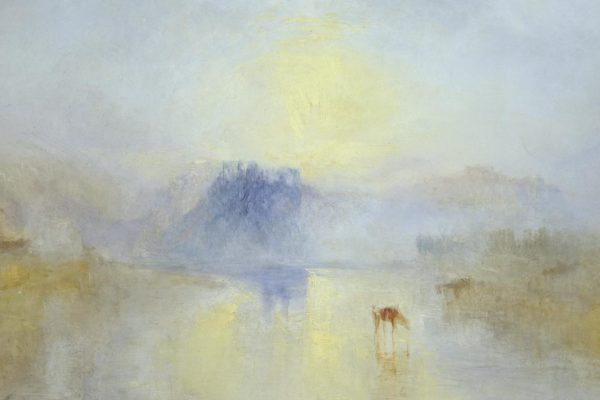 This artwork gives me hope: 'Norham Castle, Sunrise' (1845)